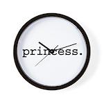 princess. Wall Clock