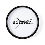 sinner. Wall Clock