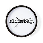 slimebag. Wall Clock