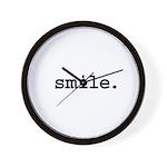 smile. Wall Clock