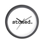 stoned. Wall Clock