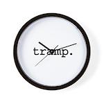 tramp. Wall Clock