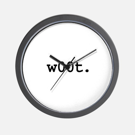 w00t. Wall Clock
