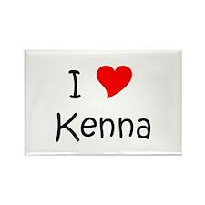 Kenna Rectangle Magnet