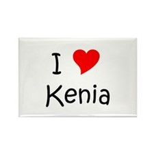 Funny Kenia Rectangle Magnet