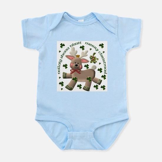 Holiday Reindeer (Irish/English) Infant Creeper