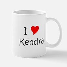 Cute I love kendra Mug