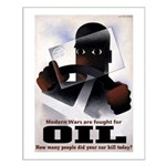 Oil = Death Poster