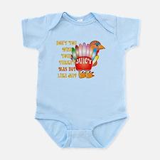 Juicy Turkey Infant Bodysuit