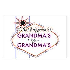 Grandma's House Postcards (Package of 8)