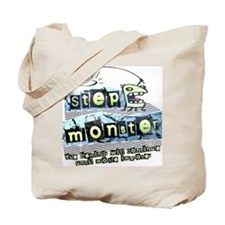 Step Monster Tote Bag
