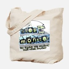 Step Monster Tote Bag