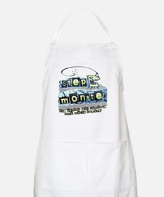 Step Monster BBQ Apron