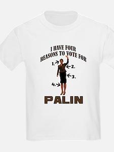 4 Reasons for Palin T-Shirt