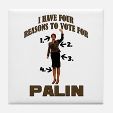 4 Reasons for Palin Tile Coaster