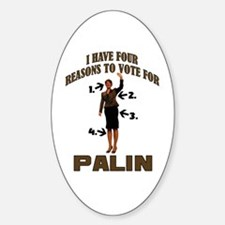 4 Reasons for Palin Oval Decal