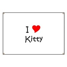 Unique Kitty Banner