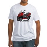 Piaggio Fitted Light T-Shirts