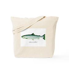 Wild Saltwater Steelhead Fish Tote Bag