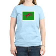 GREEN RED BMX T-Shirt