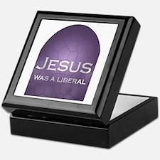 Jesus Was a Liberal Keepsake Box