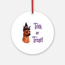 Min Pin Trick Ornament (Round)