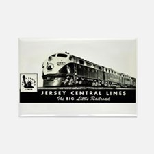 Jersey Central Lines Rectangle Magnet