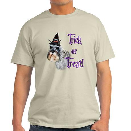 Mini Schnauzer Trick Light T-Shirt