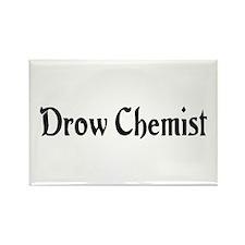Drow Chemist Rectangle Magnet