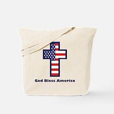 American Cross Tote Bag
