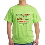 Edward can bust, bite, and br Green T-Shirt