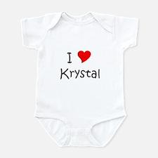 Funny Krystal Infant Bodysuit