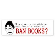 Don't Ban Books Bumper Bumper Sticker