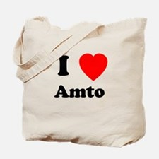 I heart Amto Tote Bag