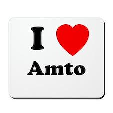 I heart Amto Mousepad