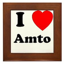 I heart Amto Framed Tile
