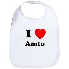 I heart Amto Bib