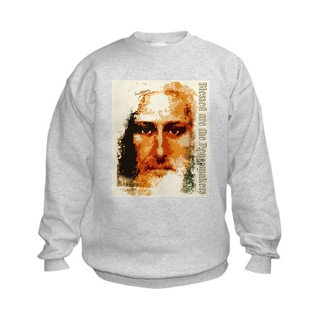 Blessed are the Peacemakers Kids Sweatshirt