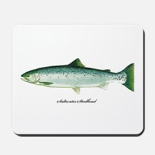 Wild Saltwater Steelhead Fish Mousepad