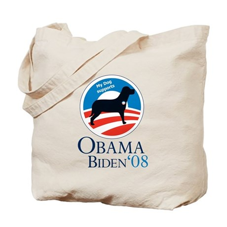 Dogs for Obama Tote Bag