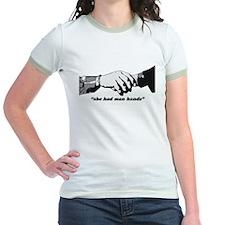 Man Hands T