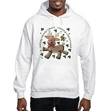 Holiday Reindeer (Irish/English) Hoodie
