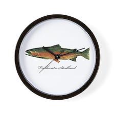 Freshwater Steelhead Trout Wall Clock