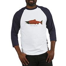 Sockeye Salmon Baseball Jersey