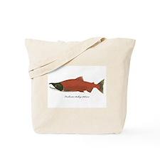 Sockeye Salmon Tote Bag