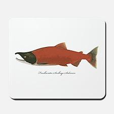 Sockeye Salmon Mousepad