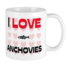 I Love Anchovies Mug