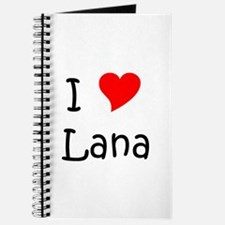 Cute Lana Journal