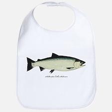 Coho Silver Salmon Bib