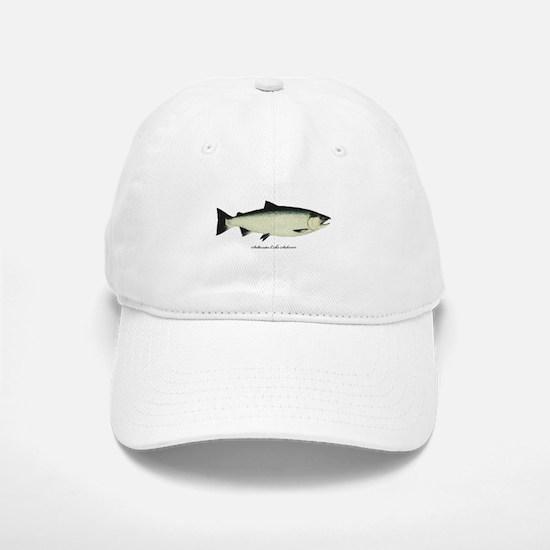 Coho Silver Salmon Baseball Baseball Cap